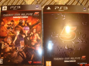 DOA5 two verions of collector