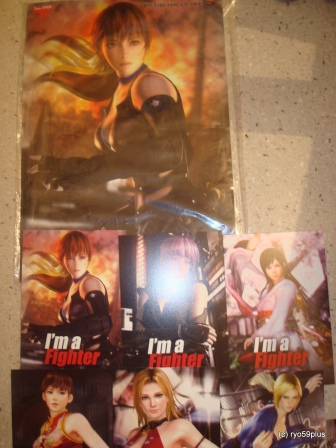 DOA5 poster+post card
