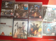 Biohazard jeux PS2,PS3,3ds