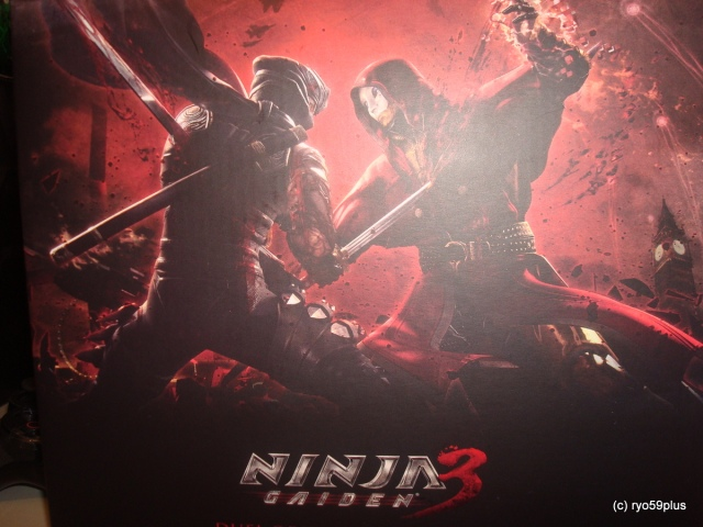 Ninja Gaiden 3 Box
