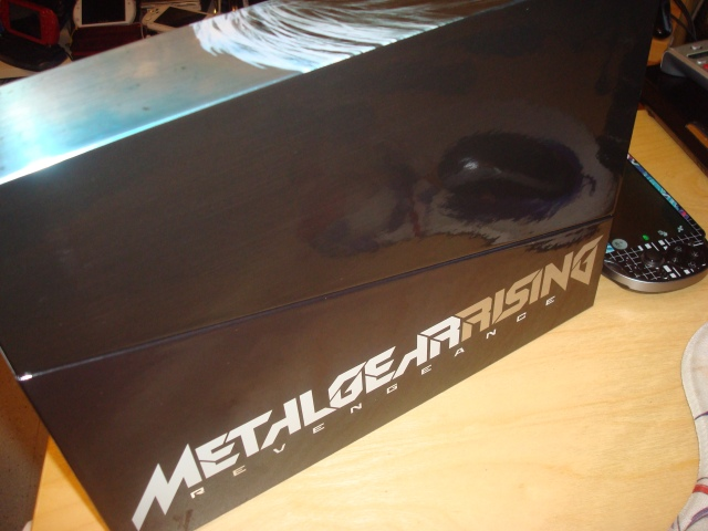 Metaru gear rising collector JP box back