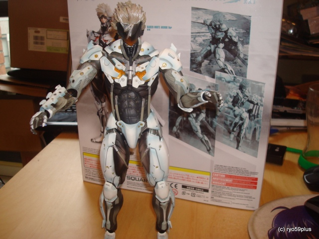 Play art White Raiden