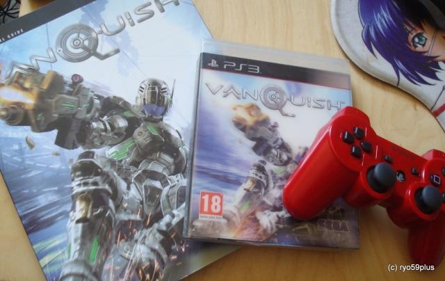 Vanquish : jeu+guide+manette