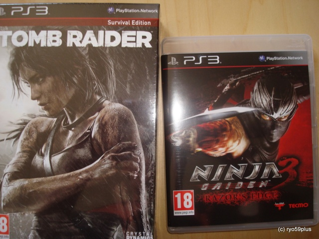 Tomb Raider + Ninja Gaiden 3 RE