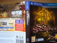soul Sacrifice 1er cover