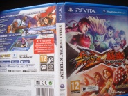 Street Fighter X TEKKEN vita cover