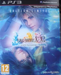 Final Fantasy X/X-2 Hd remaster euro collector