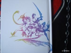 Final Fantasy X/X-2 Hd remaster euro collector back art book