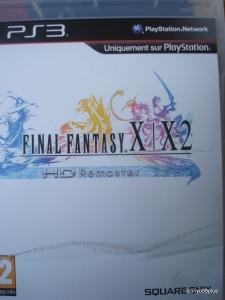 Final Fantasy X/X-2 Hd remaster euro collector game