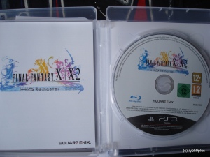 Final Fantasy X/X-2 Hd remaster euro collector in game