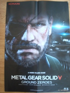 Metal Gear Solid V ground zeroes poster