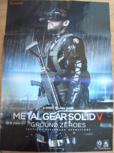 Metal Gear Solid V ground zeroes poster 3