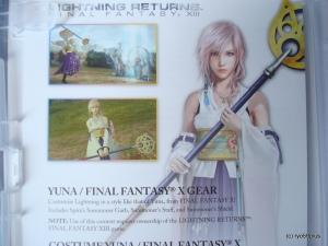 Final Fantasy X/X-2 Hd remaster euro collector special DLC LRFF13