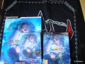 Final Fantasy X/X-2 PS3HD + Psvita hd jp