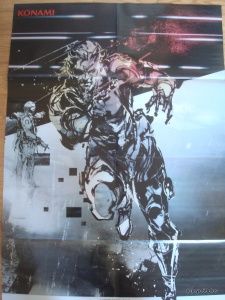 Metal Gear Solid V ground zeroes big poster