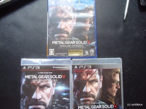 Metal Gear Solid V PS4-PS3 Jp&euro