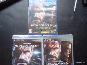 Metal Gear Solid V PS4-PS3 Jp&euro