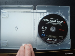 Metal Gear Solid V PS3 IN BOx
