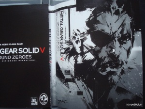 Metal Gear Solid V Ps3 double cover