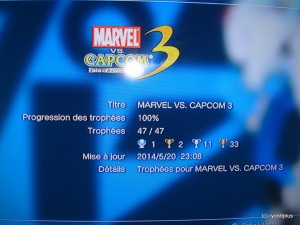 Marvel vs. capcom 3 100%
