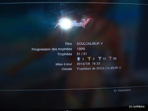 Platine 89: Soulcalibur V