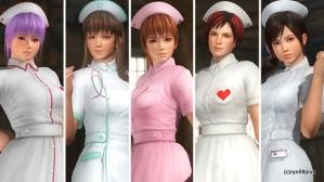 11-Dead-or-Alive-5-Ultimate-Nurse-Costumes