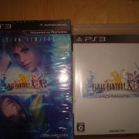 Final Fantasy X/X-2 PS3/Psvita Euro Versus Jap edition
