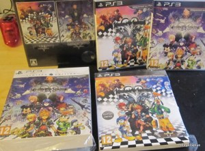 Kingdom hearts 1.5+2.5 Hd collection euro+jp