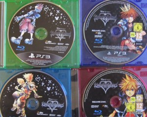 Kingdom hearts Hd  Blu ray disc euro Vs JP