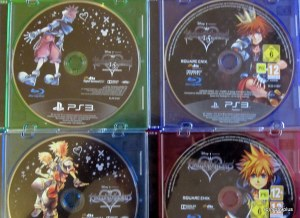 Kingdom hearts collection Hd Blue ray disc
