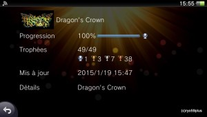 Platine 96:Dragon's crown