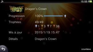 Platine 96:Dragon's crown