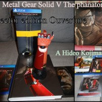 [Unboxing]Metal Gear Solid V The Phantom Pain Collector edition euro