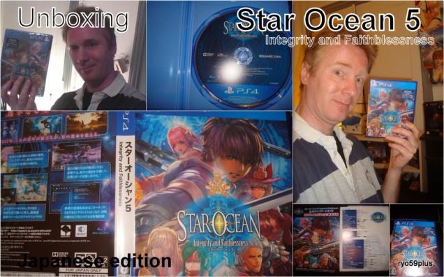 1-Star ocean 5 unbx