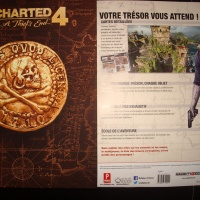 [PS4]Reception Uncharted 4 guide collector